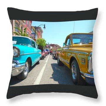 Main Street Classics Throw Pillow