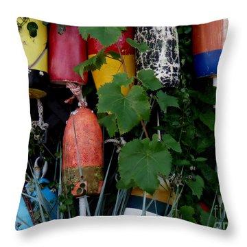 Maine Retirees Throw Pillow