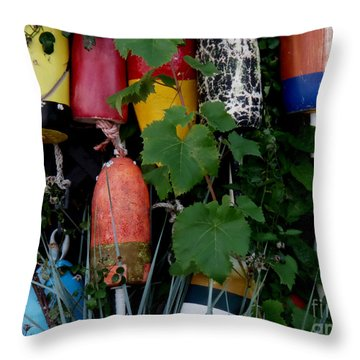 Maine Retirees Throw Pillow