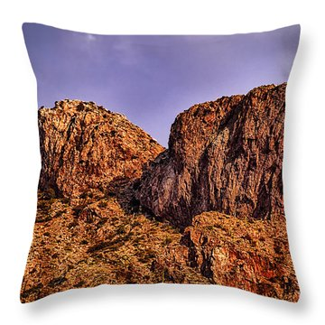Throw Pillow featuring the photograph Majestic 15 by Mark Myhaver