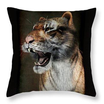 Majestic Beast Throw Pillow