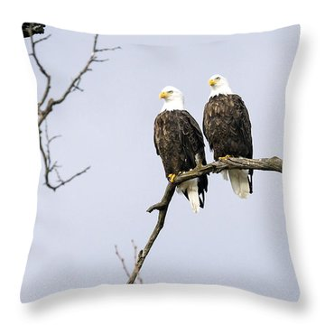 Majestic Beauty 1 Throw Pillow