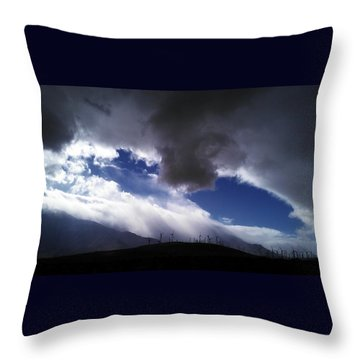 Throw Pillow featuring the photograph Majestic by Chris Tarpening
