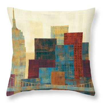 Skyline Throw Pillows