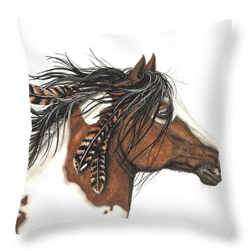 Majestic Horse Series 32 Throw Pillow