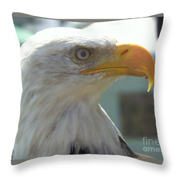 Majestic Icon Throw Pillow by Lingfai Leung