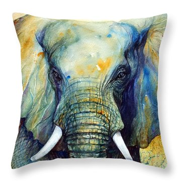 Majestic-iii Dappled Throw Pillow