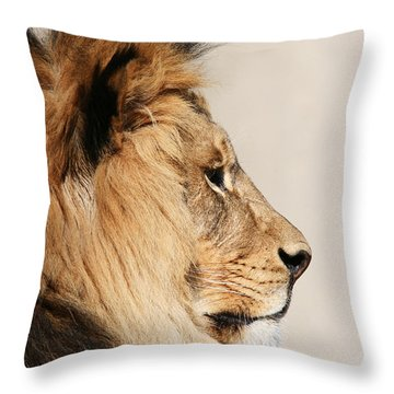 Throw Pillow featuring the photograph Majestic by Judy Whitton