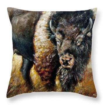 Majestic Legacy Throw Pillow