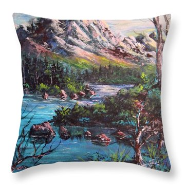 Majestic Throw Pillow by Megan Walsh