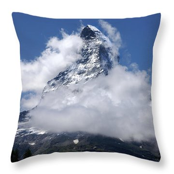 Majestic Mountain  Throw Pillow