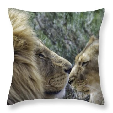Majestic Ones Throw Pillow