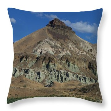 Throw Pillow featuring the photograph Majestic Rimrock by Chalet Roome-Rigdon