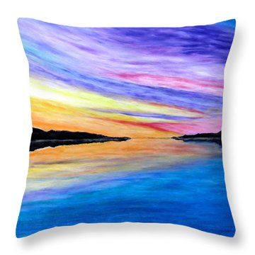 Majestic Sky Throw Pillow