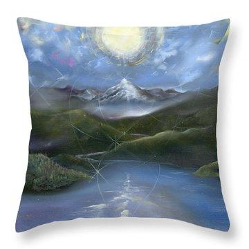 Majestik Twilight Throw Pillow by Jerod  Kytah