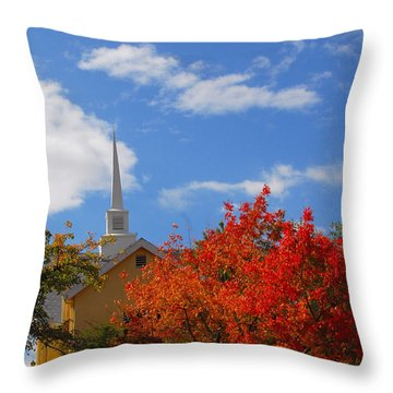 Throw Pillow featuring the photograph Majesty by Lynn Bauer