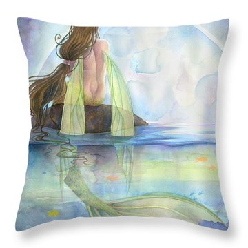 Majesty Throw Pillow by Sara Burrier