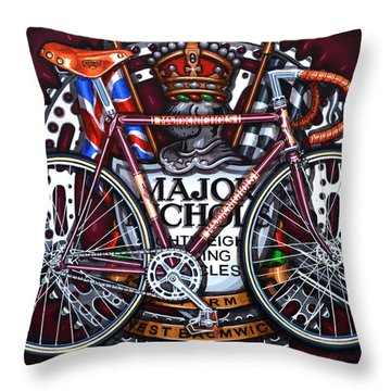 Major Nichols Throw Pillow