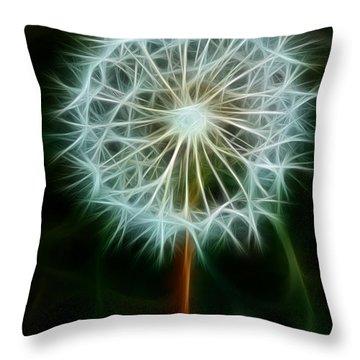 Make A Wish Throw Pillow by Joann Copeland-Paul