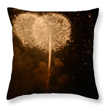 Throw Pillow featuring the photograph Make A Wish by Linda Mishler