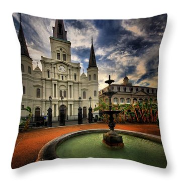 Throw Pillow featuring the photograph Make A Wish by Robert McCubbin