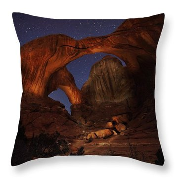 Throw Pillow featuring the photograph Make It A Double by David Andersen