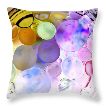 Throw Pillow featuring the photograph Make Me Happy by Christine Ricker Brandt