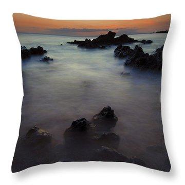 Makena Dream Throw Pillow by Mike  Dawson