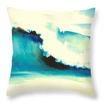 Makena Maui Throw Pillow