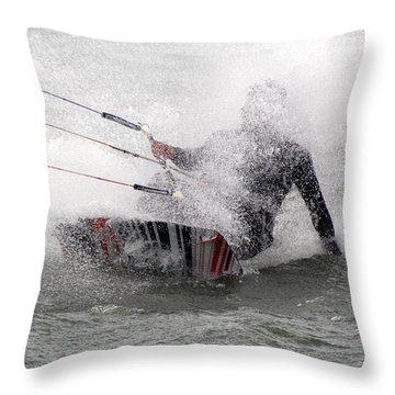 Making A Splash Throw Pillow
