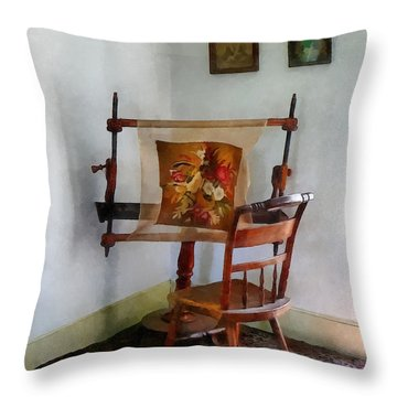 Making A Tapestry Throw Pillow by Susan Savad