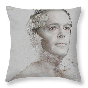 Making Art Throw Pillow