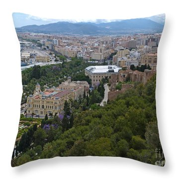 Malaga - Andalucia - Spain Throw Pillow