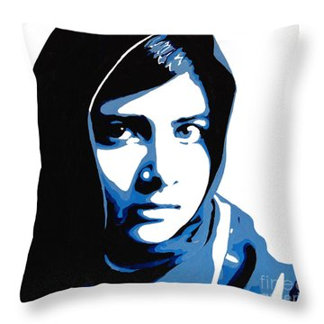 Malala Yousafzai On Friday Throw Pillow