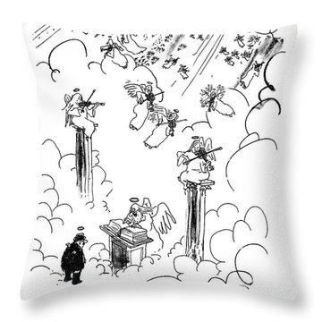 Malcolm W. Dunlap Throw Pillow