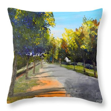 Maldon Victoria Australia Throw Pillow