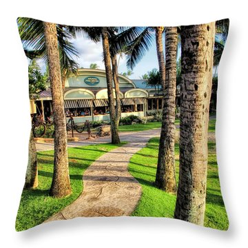 Mamas 9 Throw Pillow
