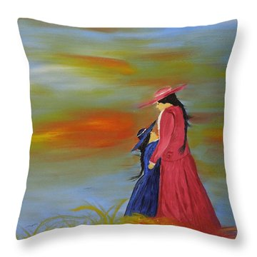 Mama's Love Throw Pillow