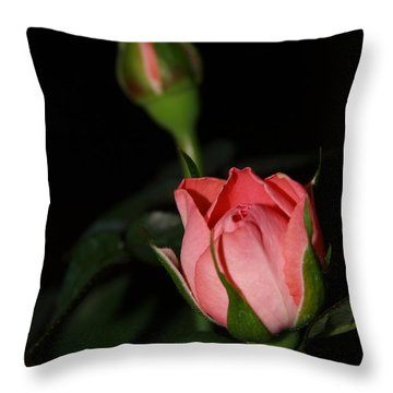 Mama's Rose Throw Pillow