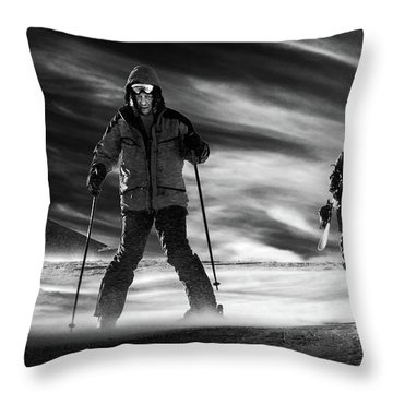 Snowboard Throw Pillows