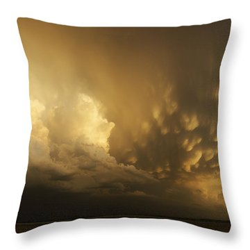 Mammatus Falling Throw Pillow