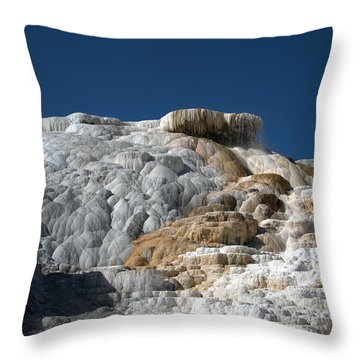 Mammoth Hot Springs 2 Throw Pillow