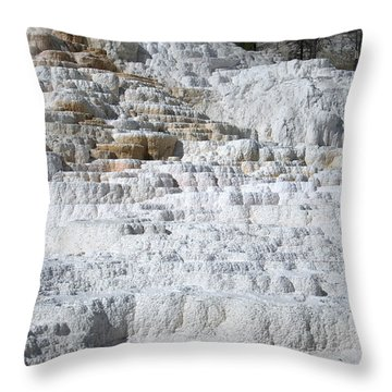 Mammoth Hotsprings 3 Throw Pillow