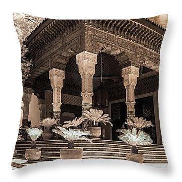 Mamounia Hotel In Marrakech Throw Pillow