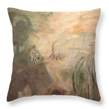 Man And Woman No. A Throw Pillow