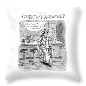 Accountants Throw Pillows