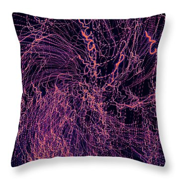 Man Move 0038 Throw Pillow by David Davies