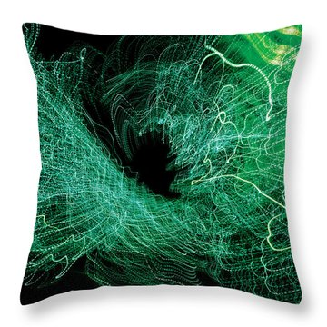 Man Move 0058 Throw Pillow by David Davies