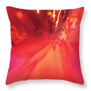Man Move 0131 Throw Pillow by David Davies