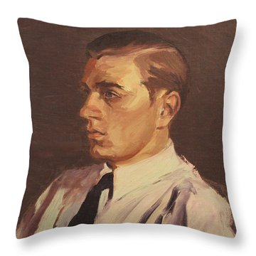 Man Of 1922 Throw Pillow